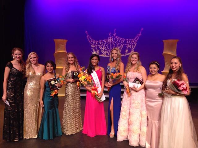 Miss City of Orange 2015 Finalists