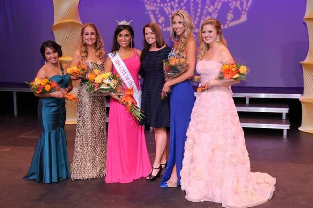 Miss City of Orange 2015 Court