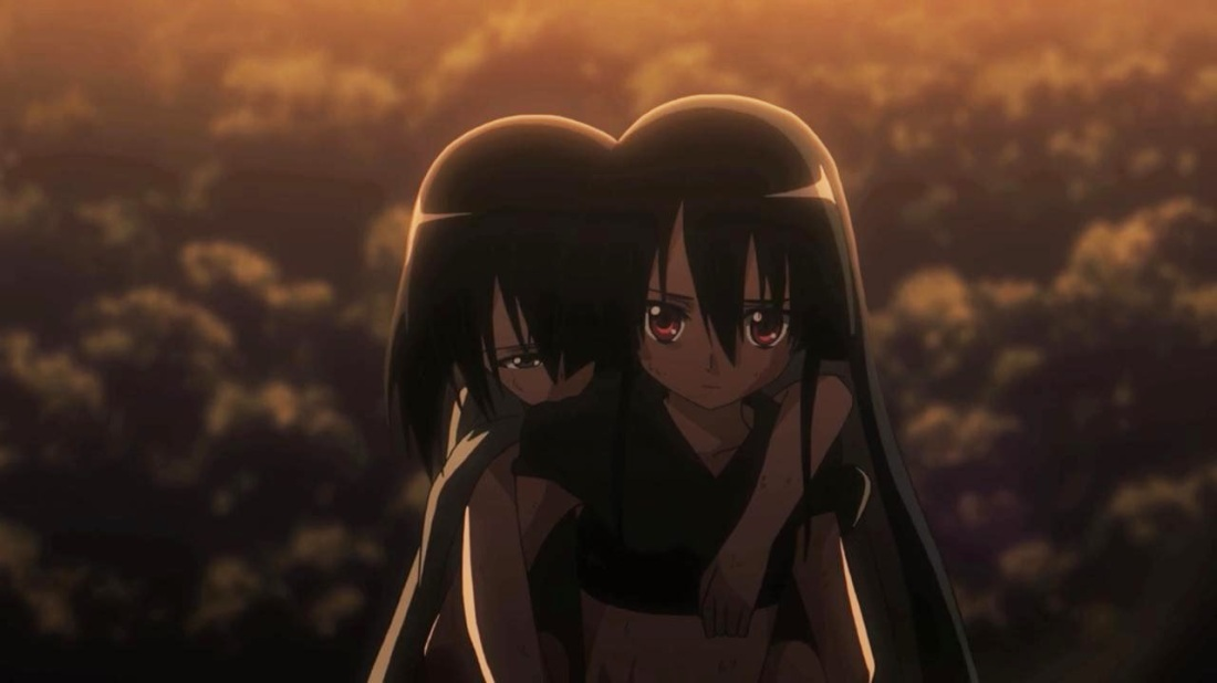 Akame Ga Kill Kurome and Akame Young Children