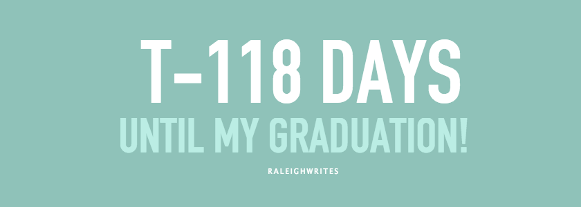118 DAYS UNTIL GRADUATION CLASS OF 2015