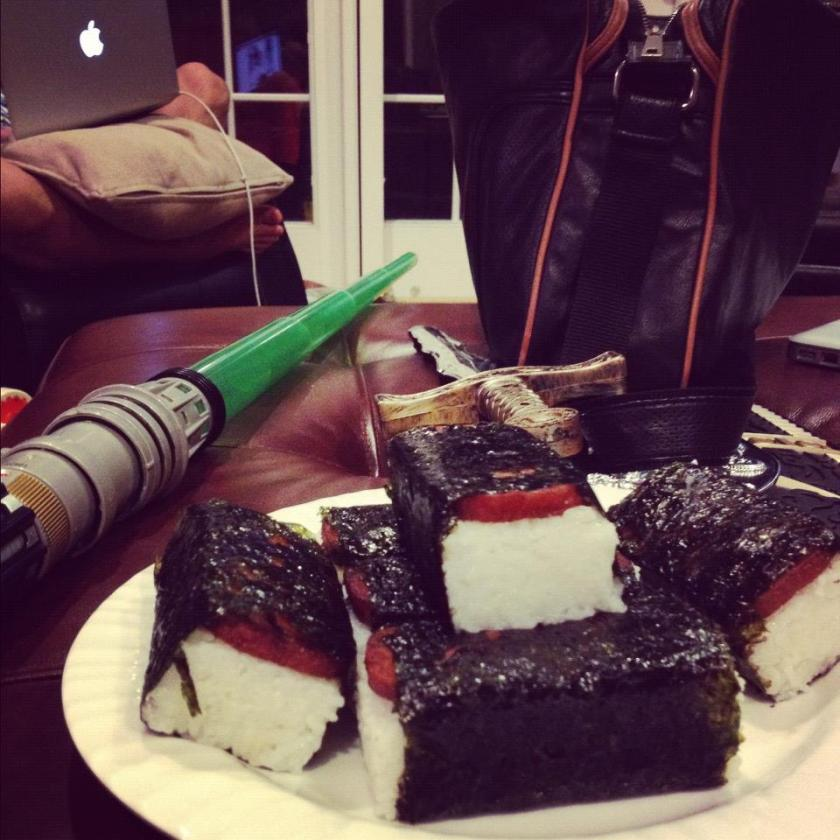 Summers with Musubi and Lightsabers