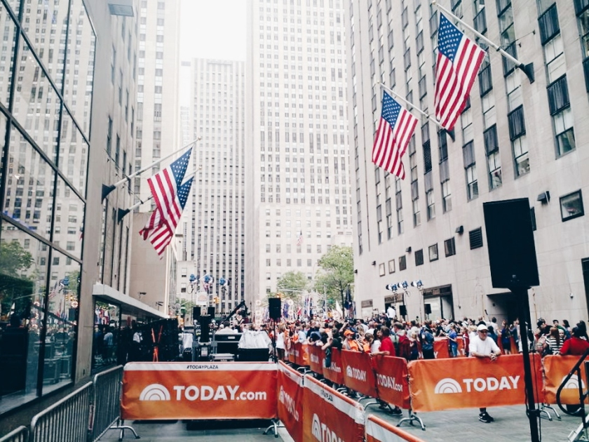 @RachelBulosan at the TODAY Show